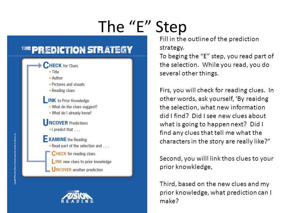 The E Step – Just do CLU again Yep.You just do the CLU steps again.