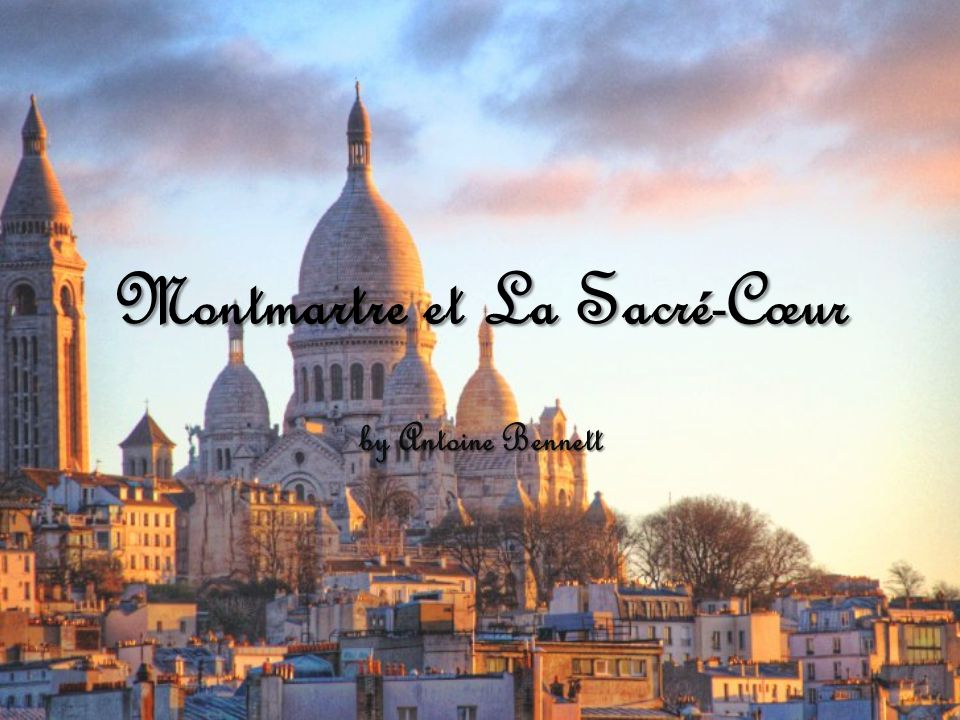 L'information de base Montmartre has been inhabited since Jesus times Pagan place of worship to the god Mars (god of war) Became Christian place of worship after St.