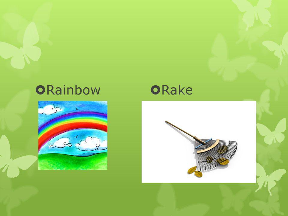  Rainbow  Rake