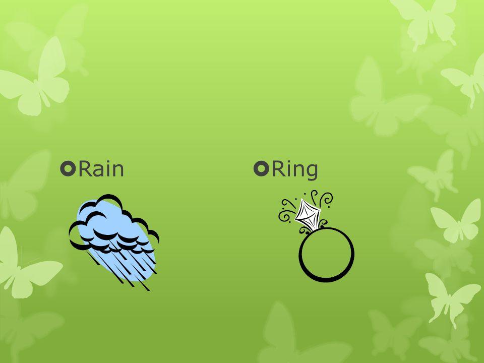  Rain  Ring