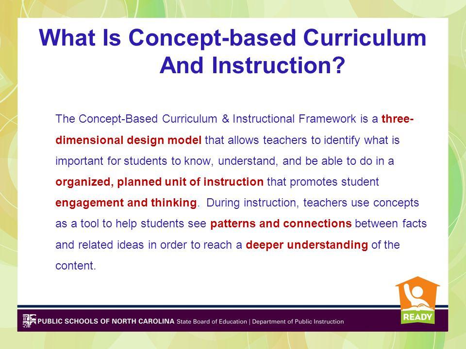 Integrating Concepts and Topics Inter- or Intra –disciplinary Units