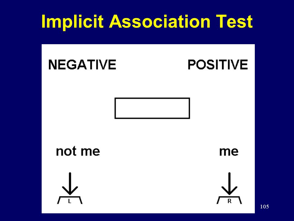 105 Implicit Association Test