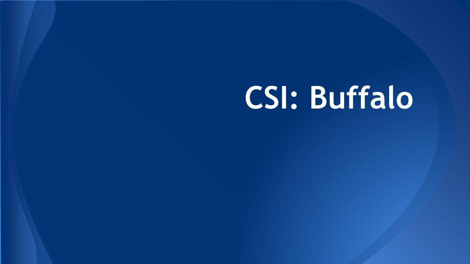 CSI: Buffalo