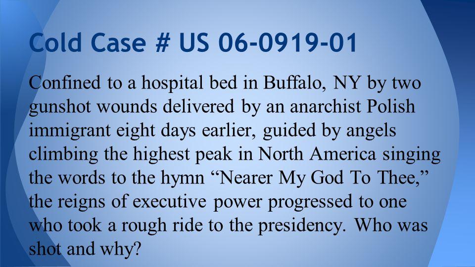 On September 6, 1901, U.S.