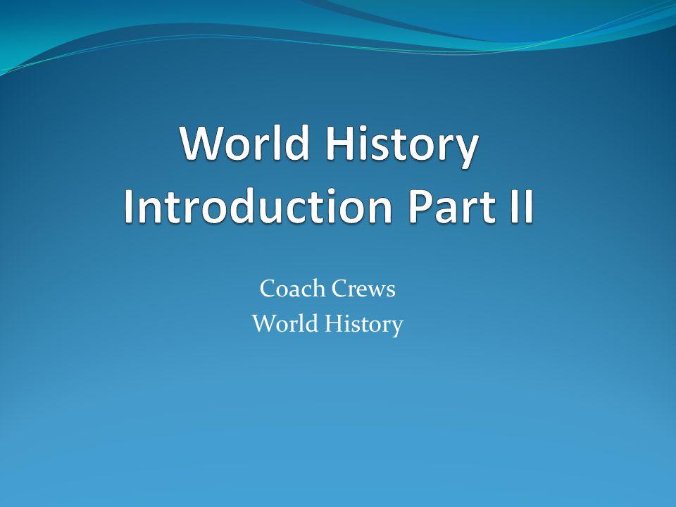 Coach Crews World History
