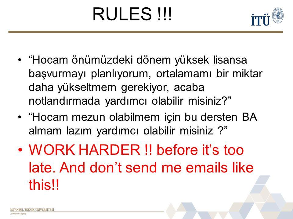 RULES !!.