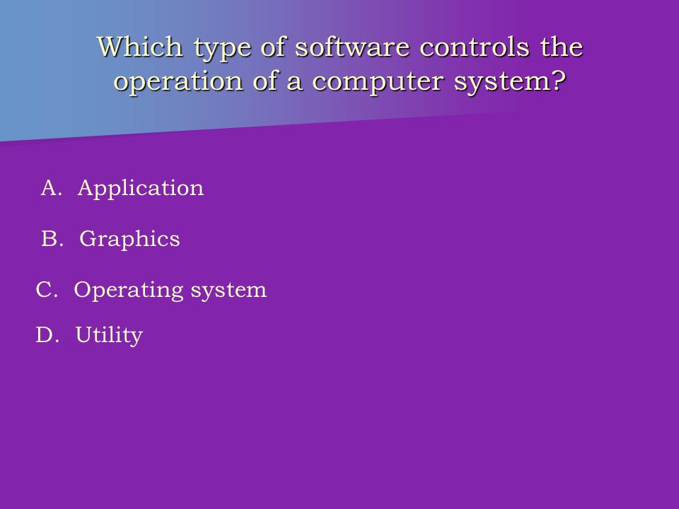 Which application software would create an electronic filing system.