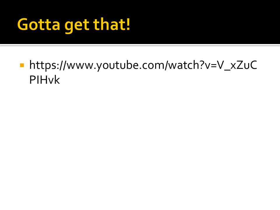  https://www.youtube.com/watch?v=V_xZuC PIHvk