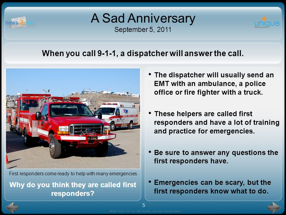Find an adult and calmly tell them about the problem. If it is an emergency, the adult may call the emergency phone number: 9-1-1. If no adult can hel