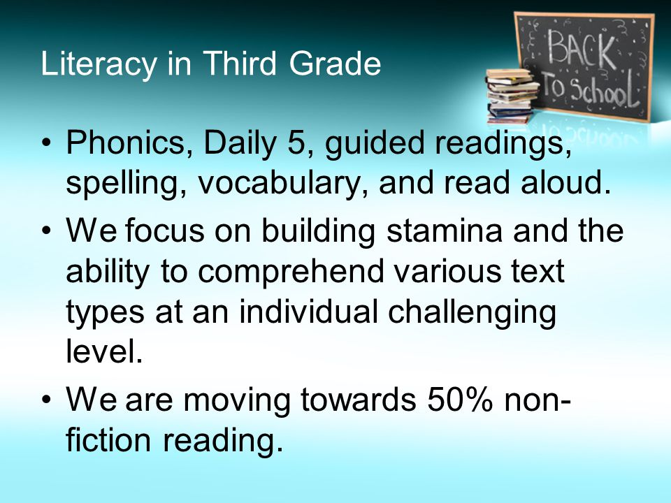 Each child grades 1-5 will be using Daily Grammar Practice –Nouns –Pronouns –Adjectives –Capitalization –Punctuation –Verbs In addition, teachers will build lessons to teach the grammar common core objectives in isolation.