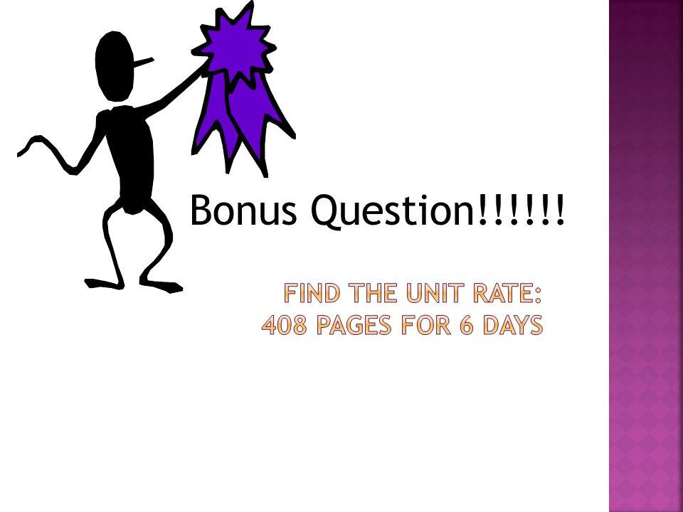 Bonus Question!!!!!!