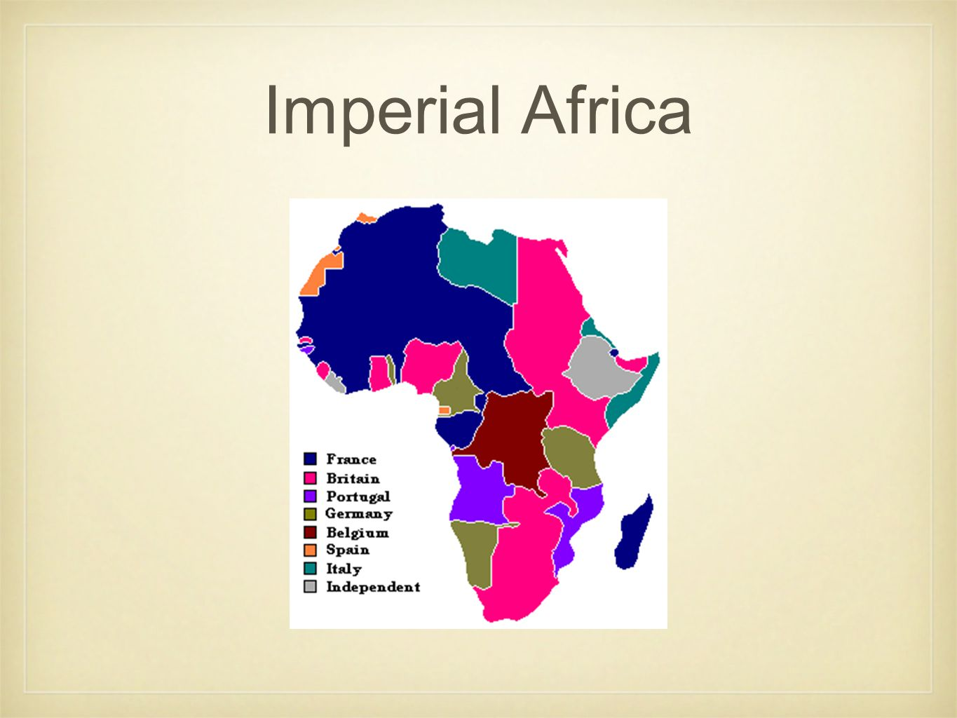 Imperial Africa