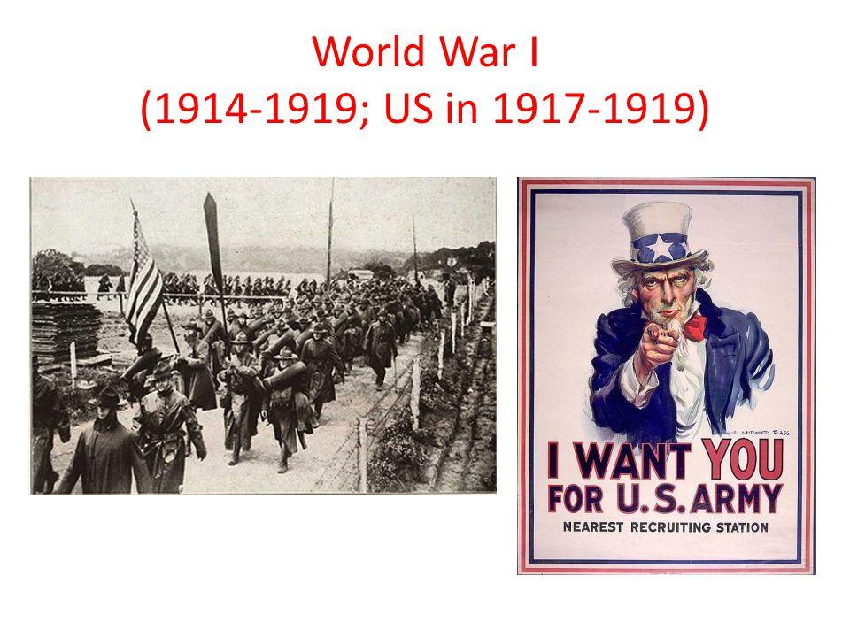 World War I C.Election of 1916 1. Wilson won ( ____________________ __________________ ) 2.