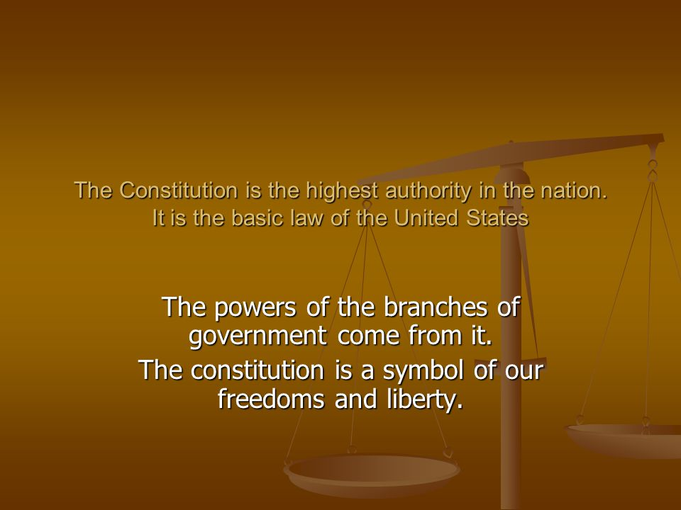 There are 3 main parts of the Constitution The Preamble: Introduction –states goals and purposes of the government.