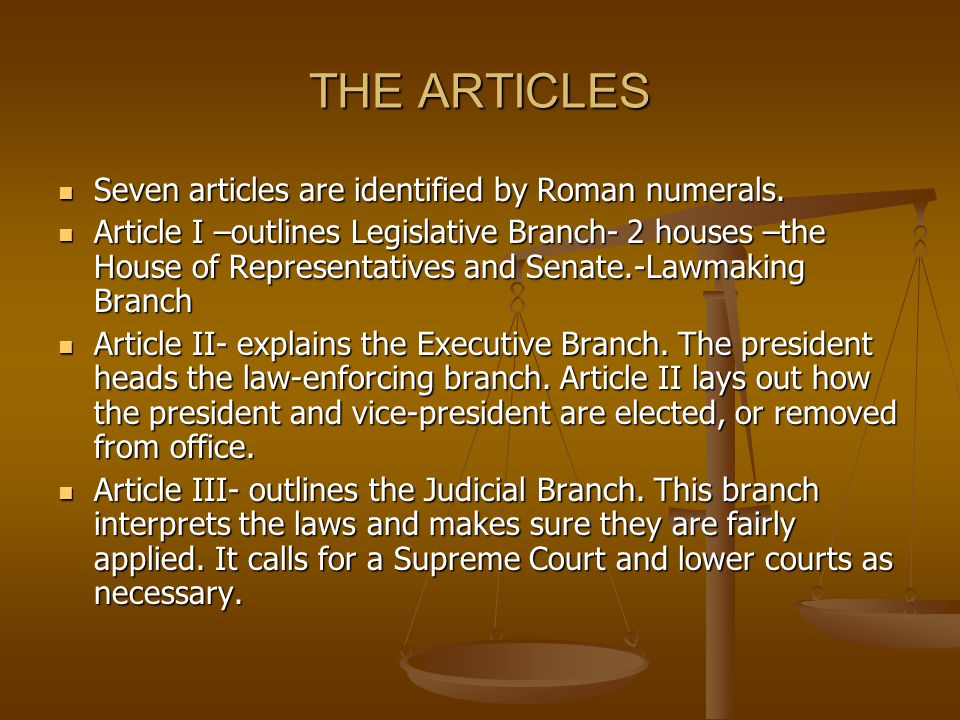 Articles IV and V Article IV- explains the relationship between the states and national government.