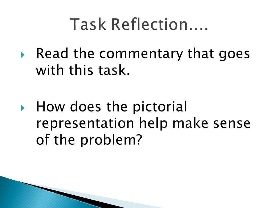  Read the commentary that goes with this task.