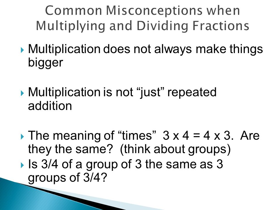  Translating multiplication expressions 5 x 6 could be 5 groups of 6 or 5 taken 6 times.