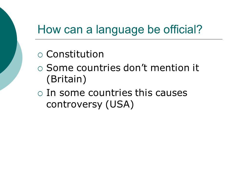 Why English. Nicer.  Easier.  Easy grammar.  More cosmopolitan.