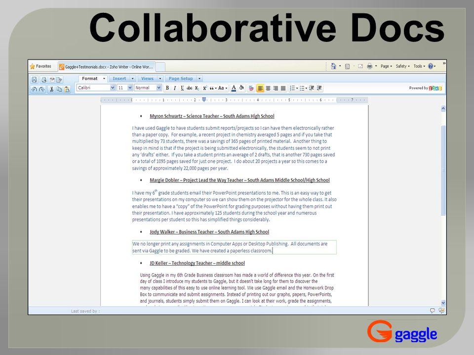 Collaborative Docs