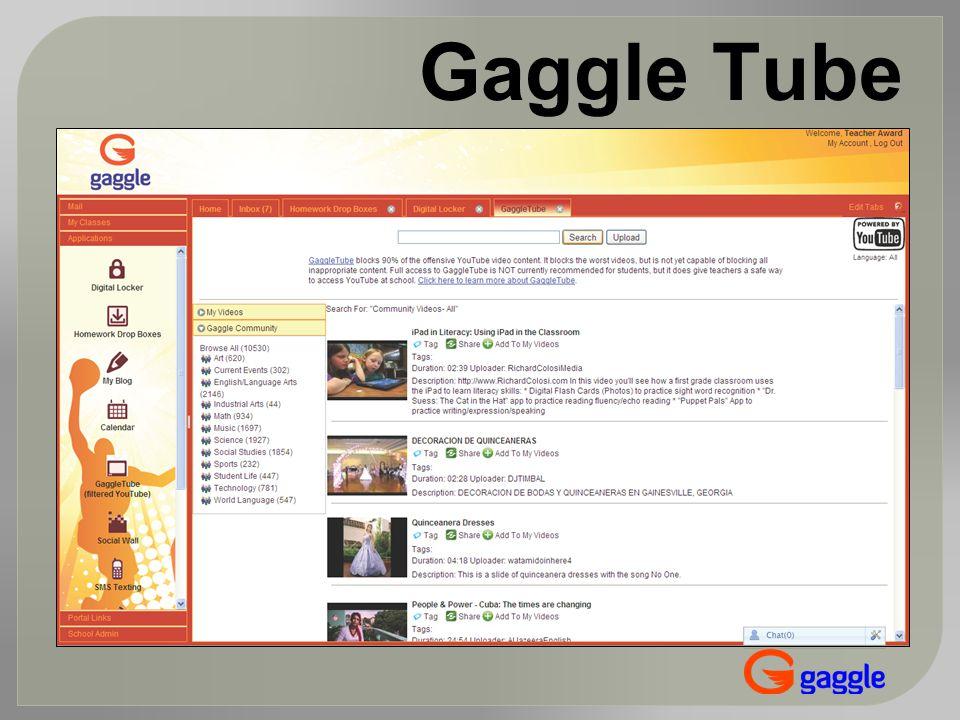 Gaggle Tube