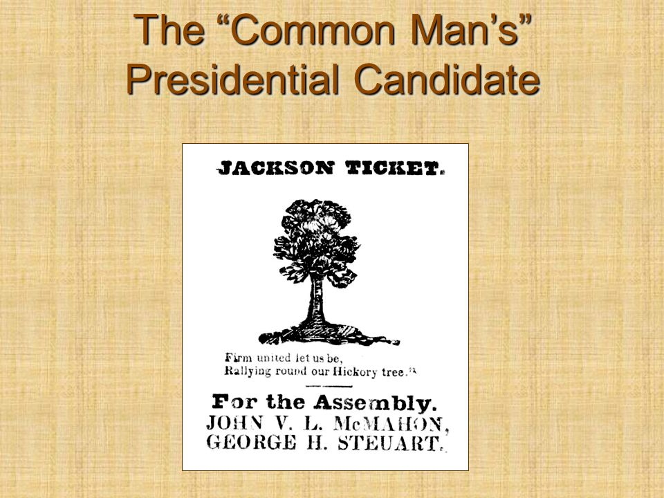"The ""Common Man's"" Presidential Candidate"