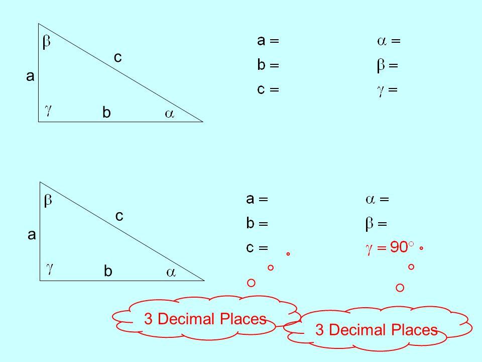 a b c a b c 3 Decimal Places