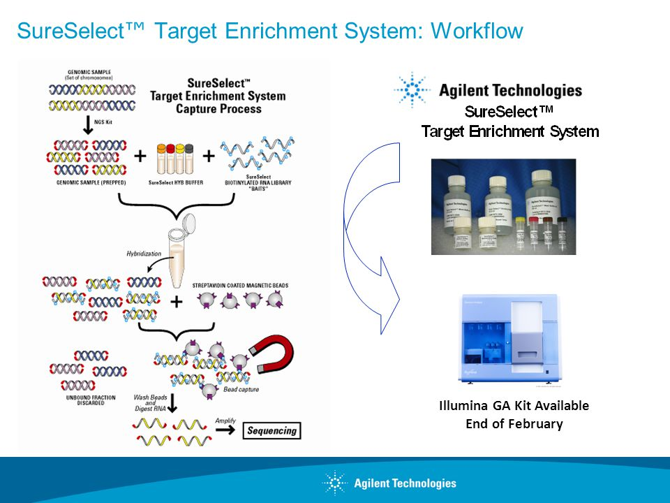 Enabling Products for the Next-Generation Sequencing Workflow Page 5 Agilent Online Custom Solutions Flexibility in Target Enrichment 244K eArray Target Enrichment Design DNA Capture Design Custom and Catalog Designs for CGH, Gene Expression, etc researcher Manufacturing Process Development Bioinformatics SureSelect DNA Capture Array SureSelect Target Enrichment System User Sequences