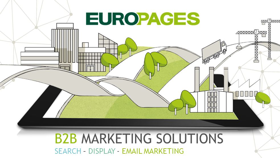 TOOLS INTERNATIONAL MARKETING PRODUCTS MAKE SURE SOMEONE IN THE WORLD YOU ARE WHEN FOUND IS LOOKING FOR YOUR Get found on the web, internationally Optimize your E*Page content to get more visible Measure your ROI Convert your visitors into leads B2B MARKETING SOLUTIONS