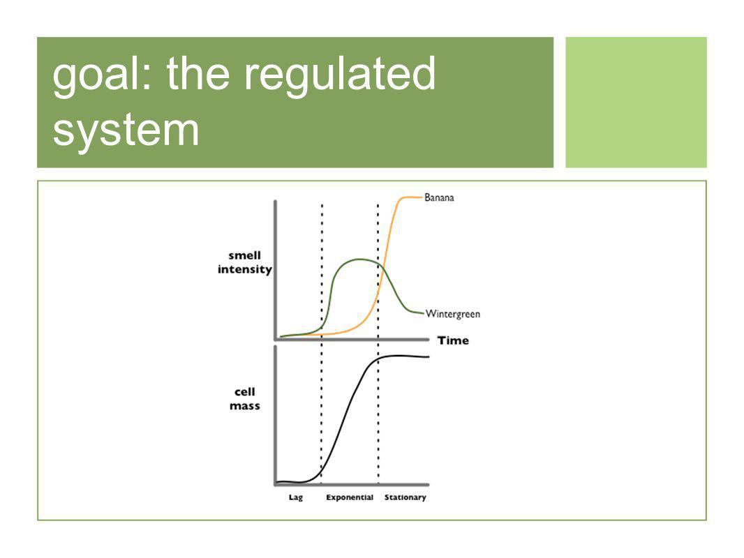 goal: the regulated system