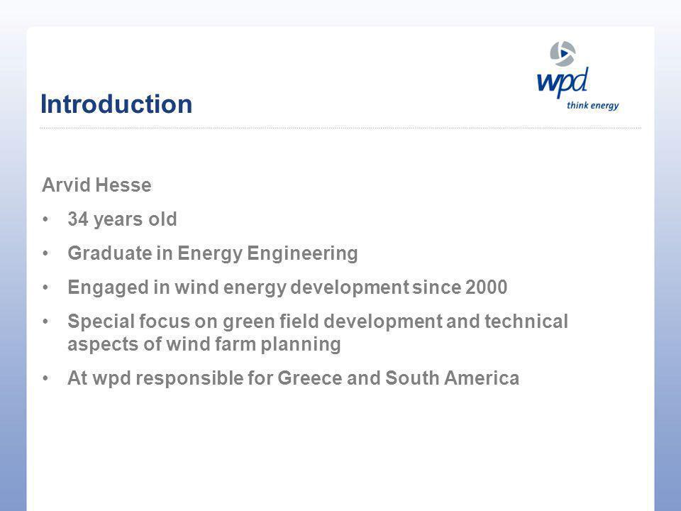 Thank you for your attention! a.hesse@wpd.de www.wpd.de