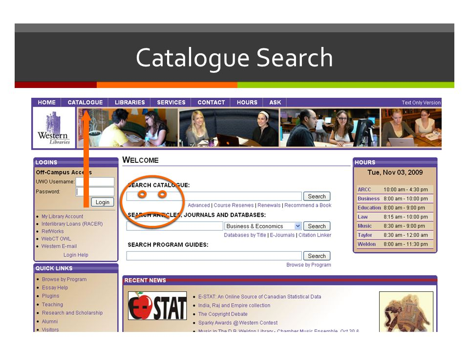 Catalogue Search