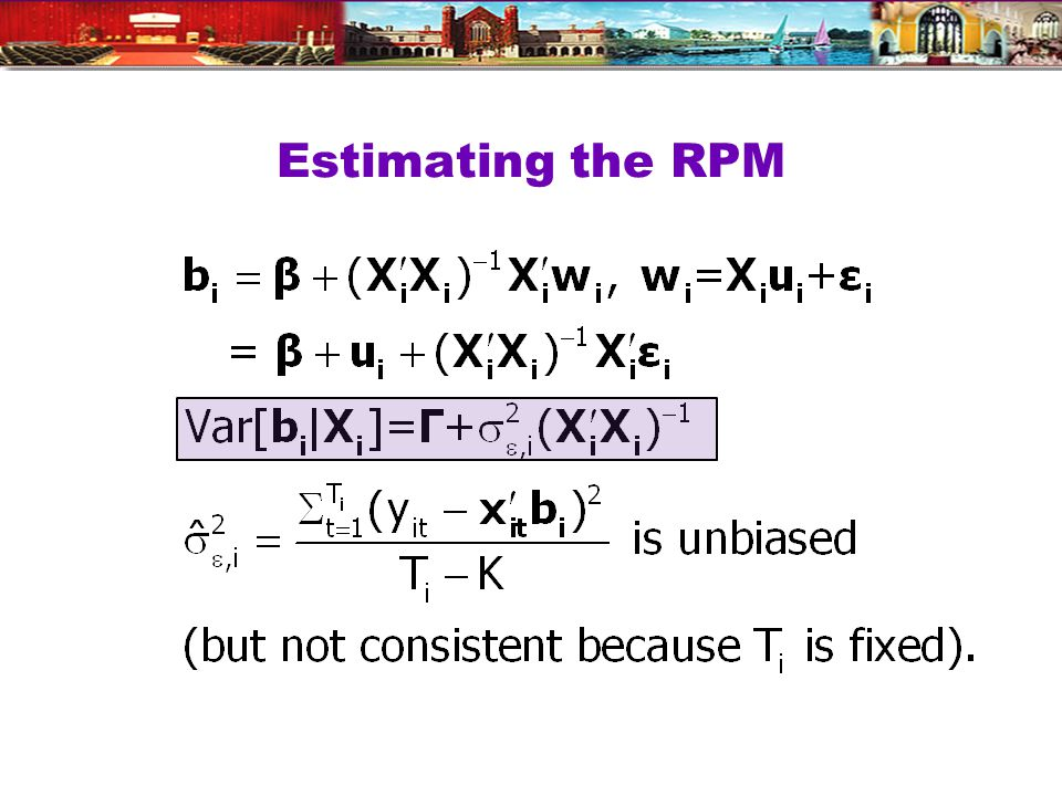 Estimating the RPM