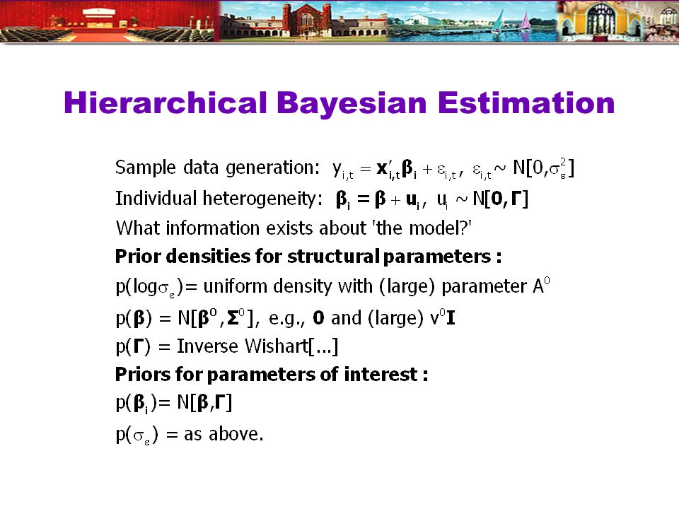 Hierarchical Bayesian Estimation