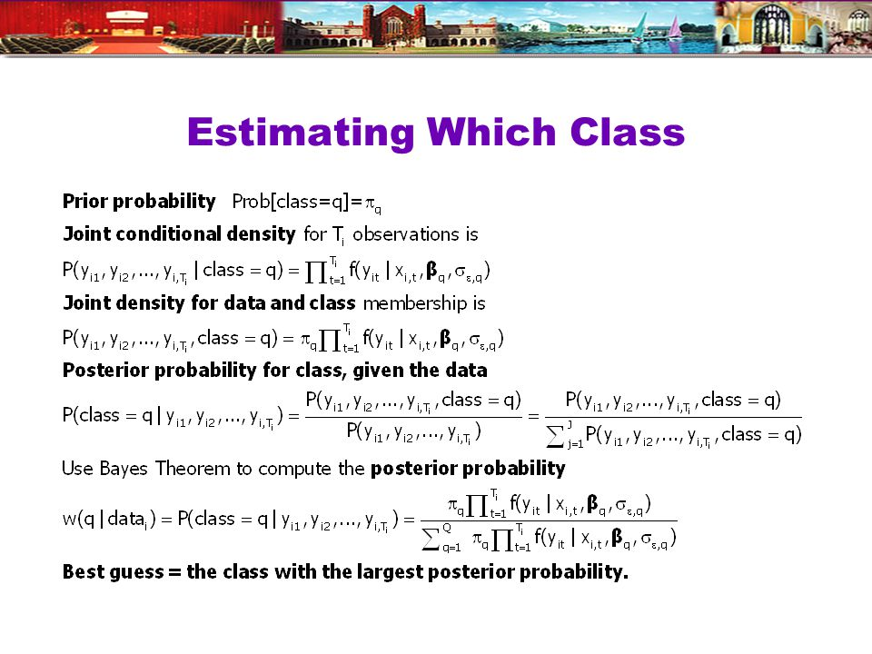 Estimating Which Class