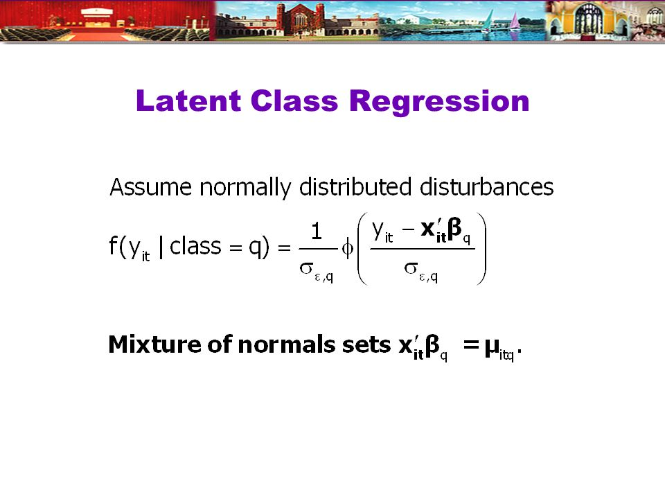 Latent Class Regression