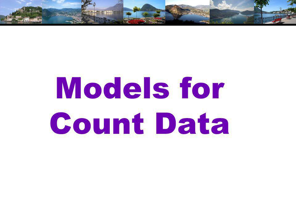Models for Count Data