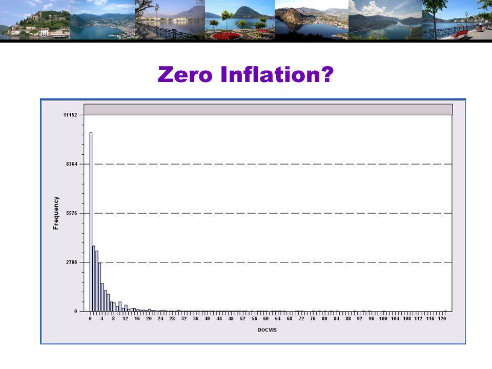 Zero Inflation?