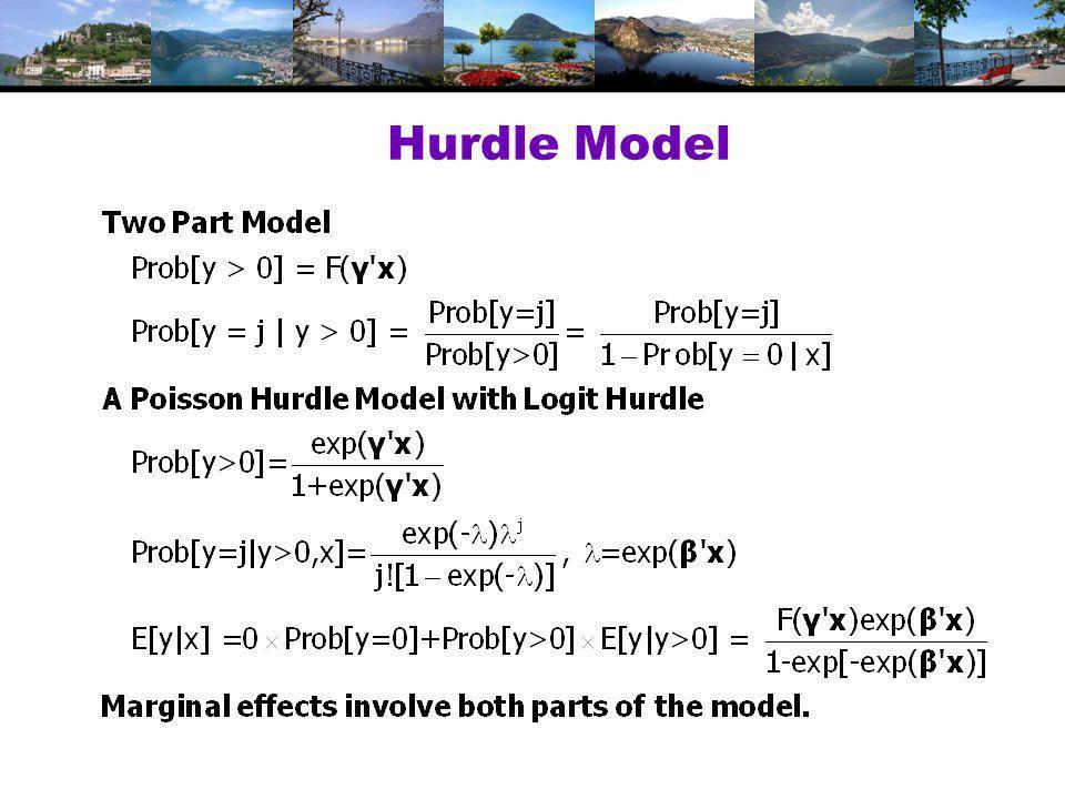 Hurdle Model