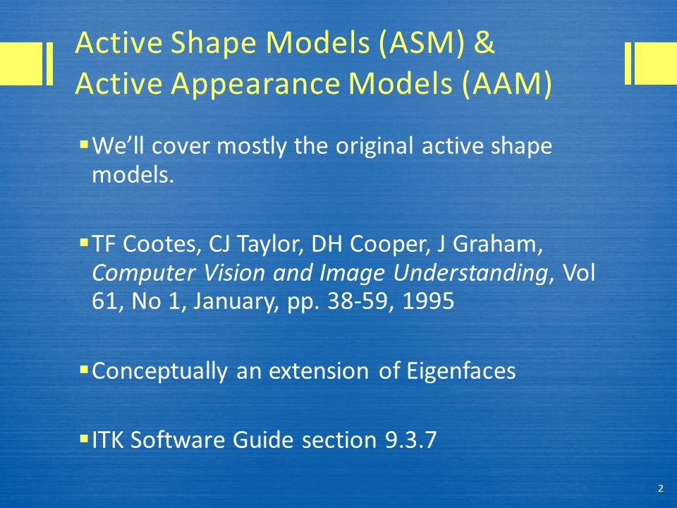 ASM & AAM Patent Warning.