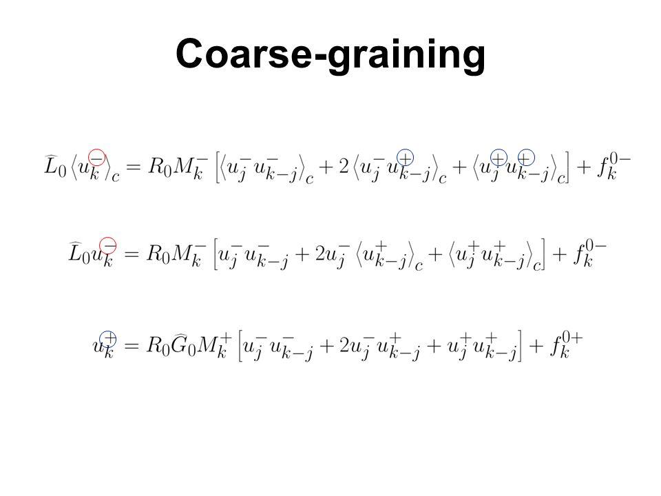 Coarse-graining