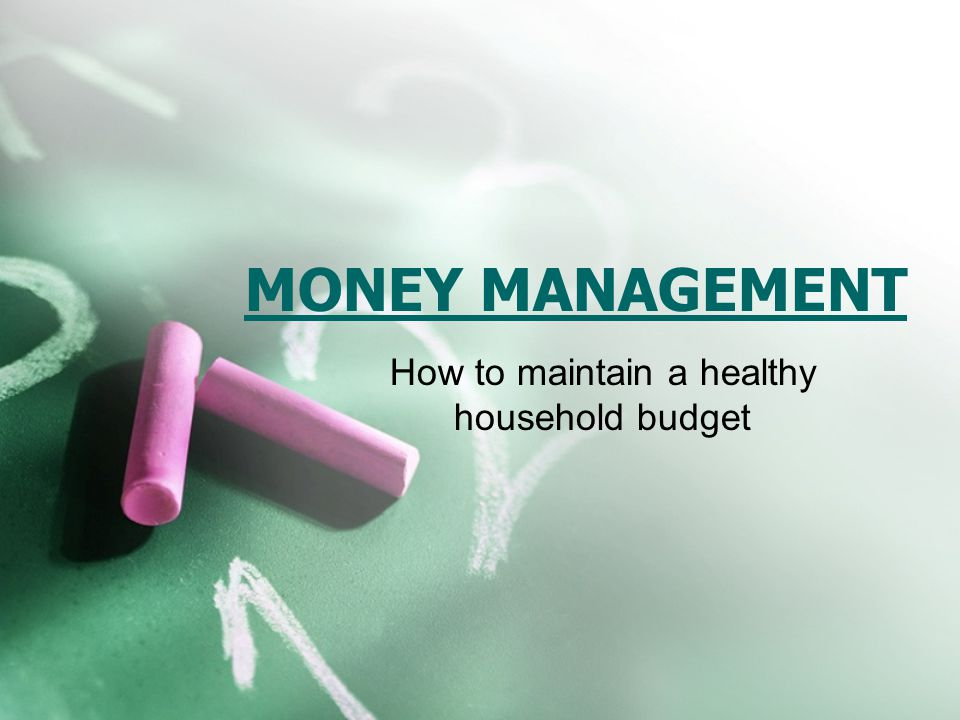 WHY CREATE A BUDGET.Creating a household budget is vital to healthy money management.