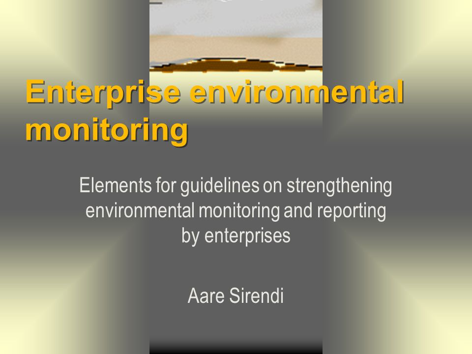 Enterprise environmental monitoring22 The disadvantages of using calculations should be taken into account:  They require validation;  Scope should correspond to the case studied;  Require data that are reliable and specific to the conditions of the facility;  More time consuming and complex than application of emission factors.