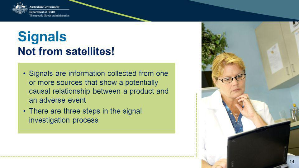 Signals Not from satellites.