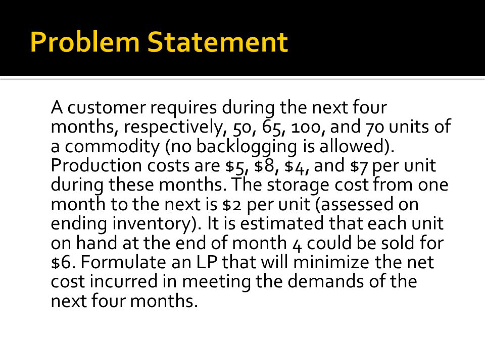 Unit Cost of Production Total Cost (All 4 Months)Units to Produce $7.00 and above$1,5250 $2.00 to $6.99$1200 to $1524.3565 Unit Cost of Production Total Cost (All 4 Months)Units to Produce For month 2: