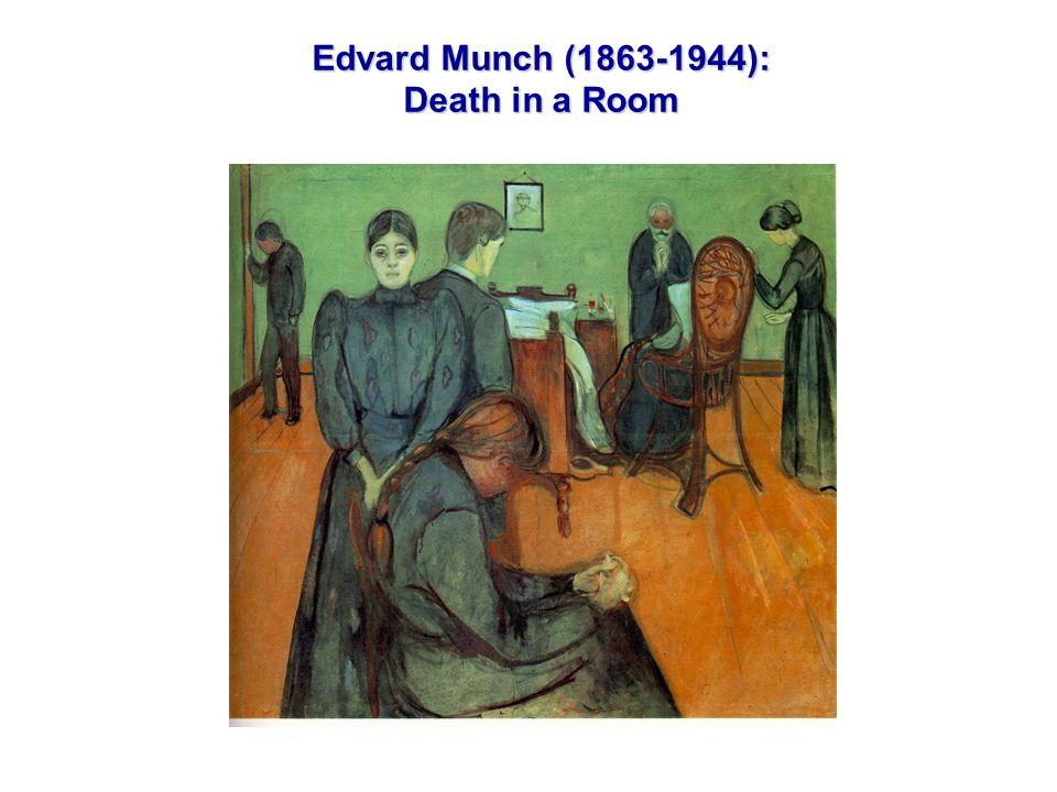 Edvard Munch (1863-1944): Death in a Room