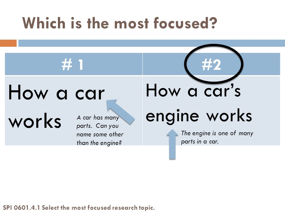 # 1#2 How a car works How a car's engine works A car has many parts.