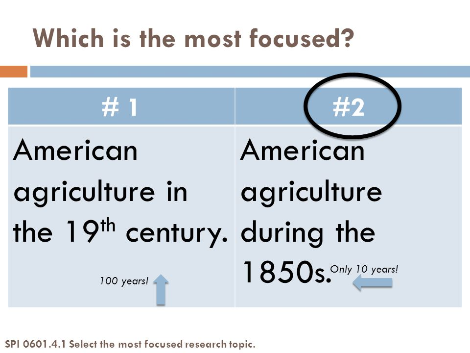 # 1#2 American agriculture in the 19 th century. American agriculture during the 1850s.