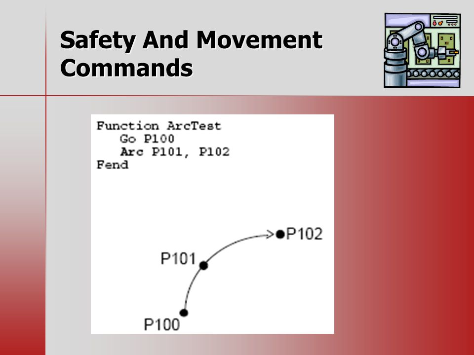 Safety And Movement Commands