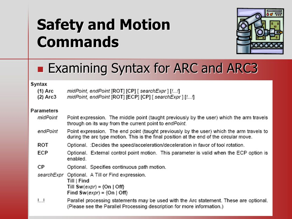Examining Syntax for ARC and ARC3 Examining Syntax for ARC and ARC3