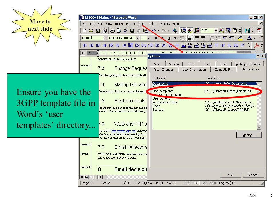 JMM26 Accept all changes - do not leave revision marks in the finished document.